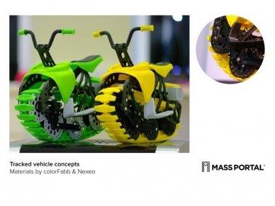 MASS PORTAL 3D spausdintuvas D400 su medžiagų džiovintuvu 2