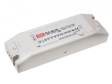 Mean Well PLC-60-12 12V 60W maitinimo šaltinis