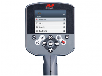 Metalo detektorius Minelab CTX3030 su WM10, Alk Pack 4