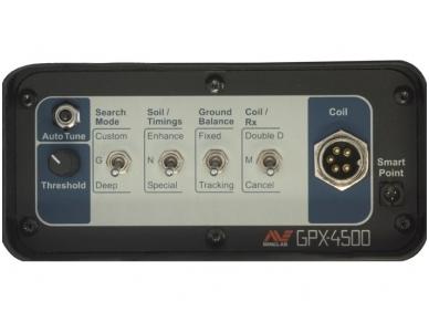 Metalo detektorius Minelab GPX 4500 Universal 4