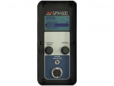 Metalo detektorius Minelab GPX 4500 Universal 5
