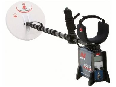 "Metalo detektorius Minelab GPX 5000, 11""DD + 15""x12"" Mono"