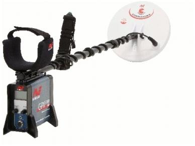 "Metalo detektorius Minelab GPX 5000, 11""DD + 15""x12"" Mono 6"