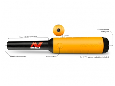 Metalo detektorius Minelab Pro Find 15 2