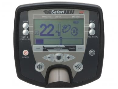 Metalo detektorius Minelab Safari Pro Pack EU 2