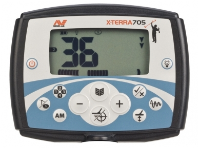 Metalo detektorius Minelab X-Terra 705 Gold Pack Universal 2
