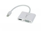 Mini-DisplayPort 1.2 M į HDMI, VGA F perėjimas, 4K 2160p