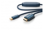 Mini-DisplayPort į HDMI kabelis 1m 1080p Clicktronic