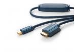 Mini-DisplayPort į HDMI kabelis 2m 1080p Clicktronic