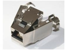 Modulinis lizdas RJ45 cat6 ekranuotas