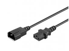 Maitinimo kabelis C14 - C13 0.5m