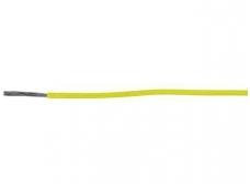 Montažinis laidas 0.823 mm2(geltonas)