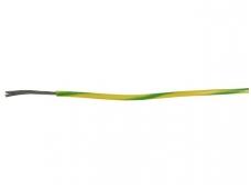 Montažinis laidas 0.823 mm2(geltonas-žalias)