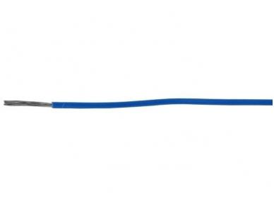 Montažinis laidas 0.823 mm2(mėlynas)