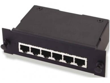 MRJ21 ekranuota kasetė (1x6) 1000Base-T