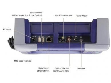 MTS-6000 su prisilietimui jautriu ekranu ir mikroskopu 2