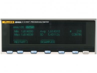Multimetras FLUKE 8846A 7
