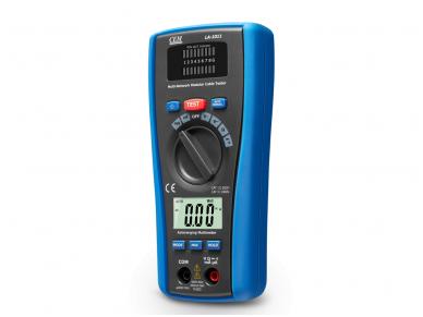 Multimetras ir LAN matuoklis CEM LA-1011 2