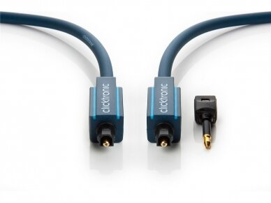 Optinis audio kabelis Toslink 0.5m Clicktronic 4
