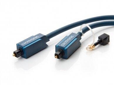 Optinis audio kabelis Toslink 7.5m Clicktronic