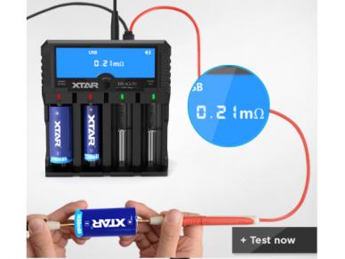 Pakrovėjas Ni-MH, Li-Ion baterijoms VP4-PLUS 9
