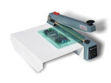 Pakuočių sandariklis su įmontuotu peiliu 500 mm
