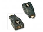 Perėjimas Mini HDMI F į Micro HDMI M, Lindy