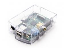 Permatomas korpusas prie Raspberry Pi Type B