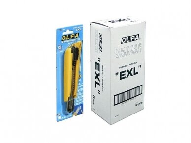 Peilis OLFA EXL 18mm 4