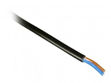 Plokščias maitinimo kabelis 2x0.75mm2