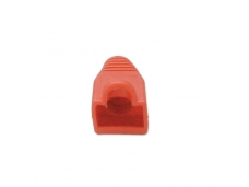 Lindy Pre-assembly RJ-45 Strain Relief Boot. Red (10 per pack)