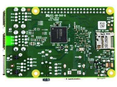 Raspberry Pi 2 B, 1GB 3