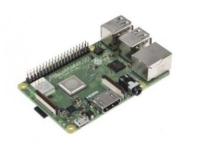 Raspberry Pi3 Model B+ 64-bit, 1.4GHz, 1GB, WiFi 2