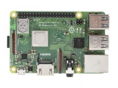 Raspberry Pi3 Model B+ 64-bit, 1.4GHz, 1GB, WiFi 3