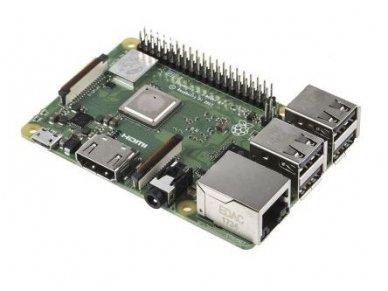 Raspberry Pi3 Model B+ 64-bit, 1.4GHz, 1GB, WiFi