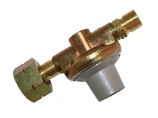Reduktorius, srieginis 2 atm, su apsauginiu ventiliu