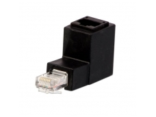 LINDY Right Angled RJ45 UTP Adapter. Down