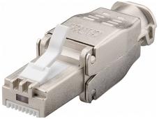 RJ45 kištukas 6A FTP AWG24-22, iki 9mm