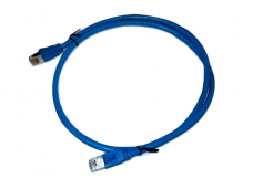 RJ45/RJ45 jungiamasis kabelis1m, mėlynas