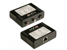 Lindy S-Video + Stereo Audio Extender - CAT5e/6. 300m