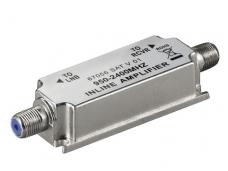 SAT signalo stiprintuvas F, 950-2400MHz, 20dB
