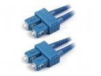 SC/SC dvigubas vienmodis komutacinis kabelis 3m