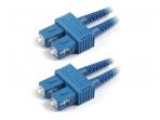 SC/SC dvigubas vienmodis komutacinis kabelis 7m
