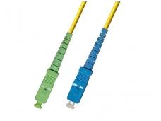 SC APC/SC viengubas vienmodis komutacinis kabelis 2m HP