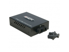 Lindy SC Fast Ethernet Fibre Optic Converter. 10/100Base-TX to 100Base-FX. Multi-mode