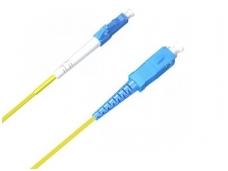 SC/LC viengubas vienmodis komutacinis kabelis 12m, HP