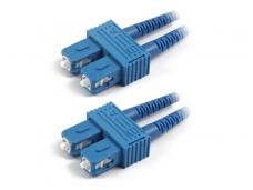 SC/SC dvigubas vienmodis komutacinis kabelis 15m