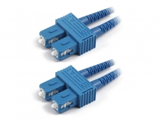 SC/SC dvigubas vienmodis komutacinis kabelis 2m