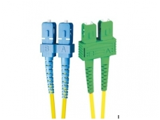 SC/SCAPC dvigubas vienmodis komut. kabelis 10m