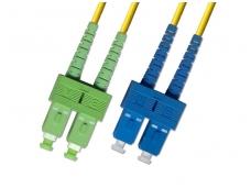 SC/SCAPC dvigubas vienmodis komut. kabelis 15m HP